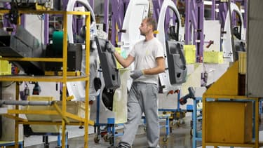 Une usine Renault en France