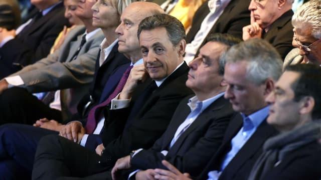 Alain Juppé, François Fillon, Bruno Le Maire et Nathalie Kosciusko-Morizet n'assisteront pas au discours de Nicolas Sarkozy samedi.
