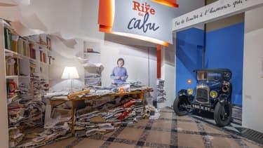 """Visite virtuelle de l'exposition """"Le Rire de Cabu"""", à l'Hôtel de ville de Paris,"""