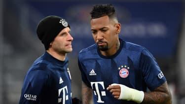 Thomas Müller et Jérôme Boateng