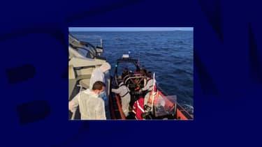 Une quarantaine de migrants ont été secourus en mer ce vendredi.
