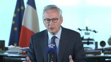 Le ministre de l'Economie, Bruno Le Maire, s'est déclaré lundi défavorable à une baisse de l'indemnisation pour les salariés, contrairement à ce qu'avait évoqué la secrétaire d'Etat Agnès Pannier-Runacher vendredi dernier.