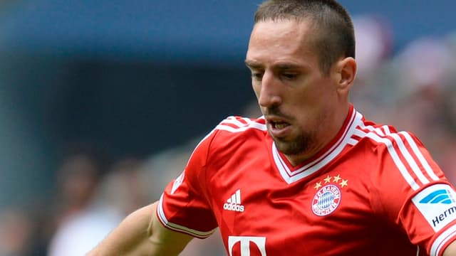 Franck Ribéry, encore buteur mercredi soir