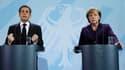 A l'issue d'un déjeuner de travail à Berlin, lundi, Angela Merkel a salué l'initiative de Nicolas Sarkozy en faveur de la création rapide d'une taxe sur les transactions financières en Europe mais elle a précisé qu'il n'y avait pas d'accord au sein du gou