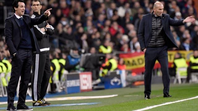 Emery et Zidane