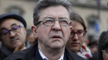 Jean-Luc Mélenchon, le 1er mai à Paris.