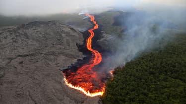 La réserve de la Coloraie du Volcan, qui couvre le massif du Piton de la Fournaise, fait partie des nouveaux sites certifiés en France par l'UICN