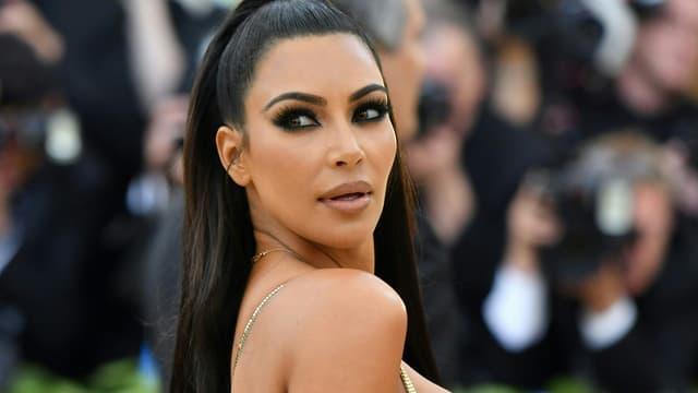 Kim Kardashian à New York le 8 mai 2018