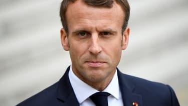 Emmanuel Macron le 17 octobre.
