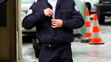 Un policier dans les rues de Paris. (Photo d'illustration)
