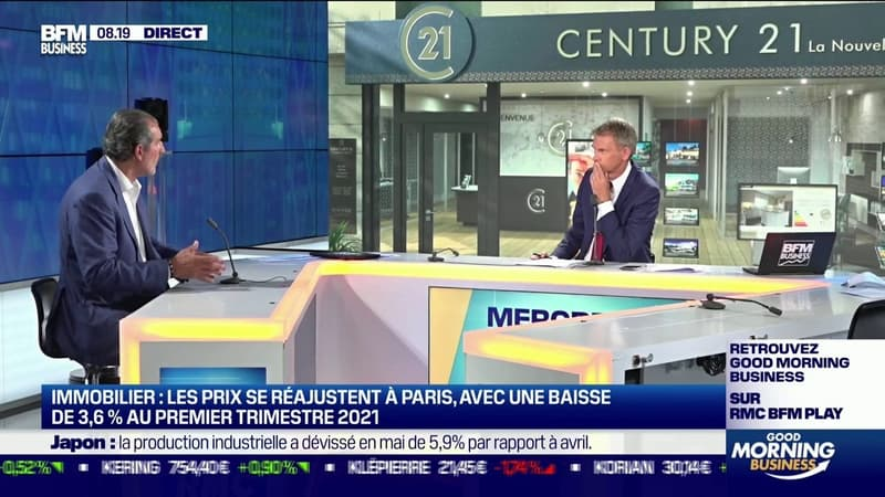 Laurent Vimont (Président de Century 21): les CSP+ se tournent de plus en plus