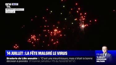 Les images de ces feux d'artifice maintenus pour le 14-Juillet