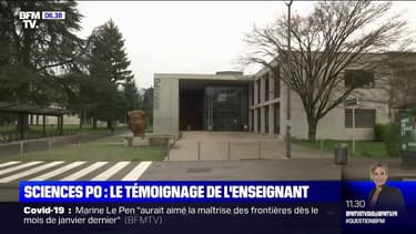 Sciences Po Grenoble: le second professeur accusé d'islamophobie se défend sur BFMTV