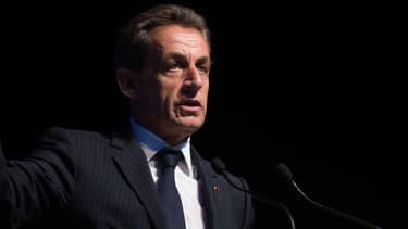 Nicolas Sarkozy en meeting, le 22 octobre 2014