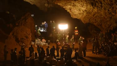 La grotte de Tham Luang en Thaïlande
