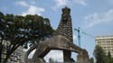 Vue d'Addis Abeba