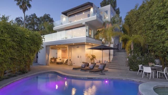 L'ex-chanteur de One Direction a acheté cette villa en janvier 2016 mais a depuis entrepris d'importants travaux.