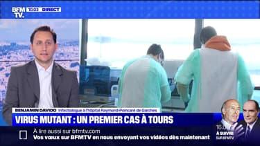 Virus mutant: un premier cas à Tours - 26/12