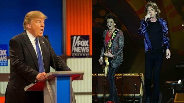 Donald Trump utilise des chansons des Rolling Stones durant ses meetings et ce, contre l'avis du groupe