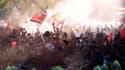 Les supporters de River Plate ont réservé un superbe accueil à leurs héros malheureux
