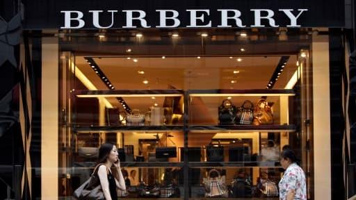 Le marché chinois est capital pour Burberry, dont l'activité a encore baissé en juillet.