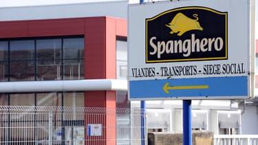 L'entreprise Spanghero, à Castelnaudary (Aude).