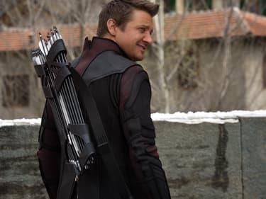 Jeremy Renner alias Hawkeye dans Avengers 2 (2015)