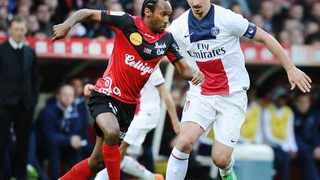 Jrémy Sorbon et Zlatan Ibrahimovic