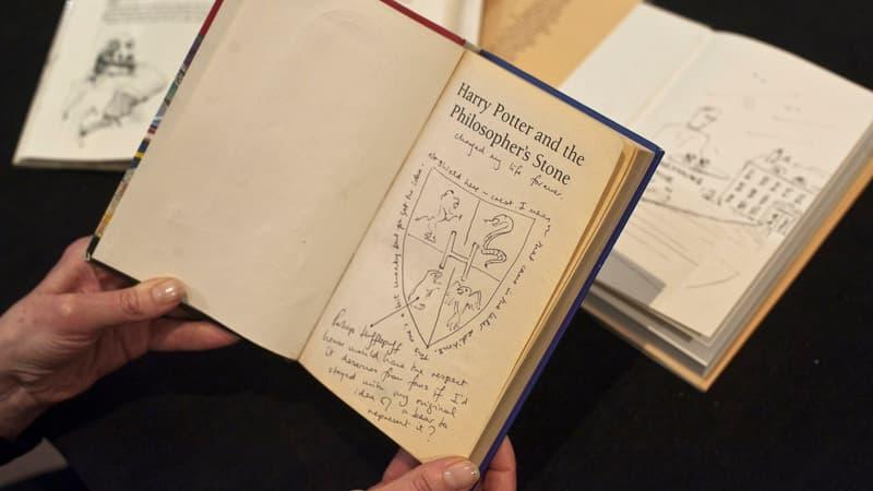 Des soeurs exhument un exemplaire de Harry Potter qui vaut une fortune