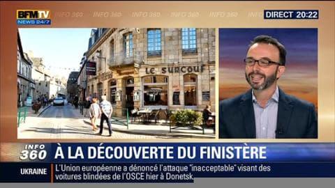 Finistère: Roscoff, une ville qui possède un patrimoine architectural préservé