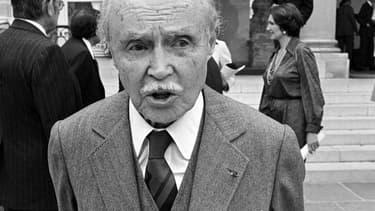 Maurice Genevoix en 1977 - AFP