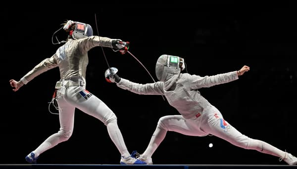 Marion Brunet en finale face à la Russie