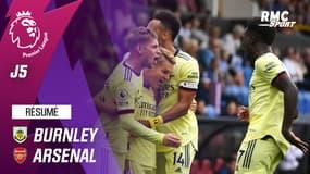 Résumé : Burnley 0-1 Arsenal – Premier League (J5)