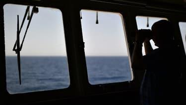 Une opération de secours en Méditerranée (illustration).