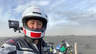 Laurent Cochet en Islande.