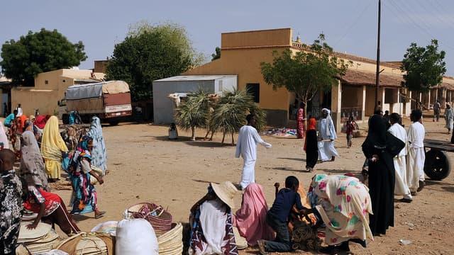 Un marché à Aderde, dans l'Ouest de l'Erythrée, le 18 juillet 2013.