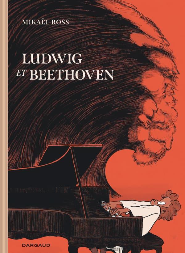"""Couverture de la BD """"Ludwig et Beethoven"""""""