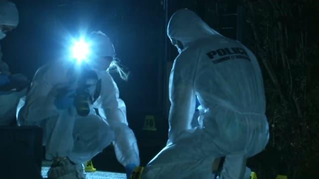 Les enquêteurs de la police scientifique (PHOTO D'ILLUSTRATION).