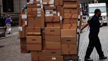 Les sites d'envois de courrier et de colis ont décollé en 2020