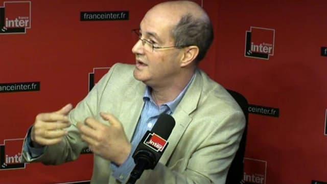 L'historien Patrick Weil, au micro de France Inter