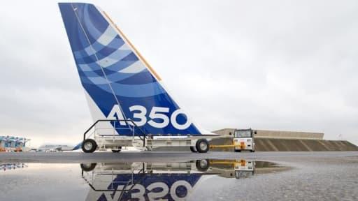 Vu le nombre de commandes de l'A350, Airbus en a pour dix ans de travail assuré