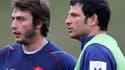 Maxime Medard et Marc Lièvremont