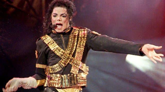 Michael Jackson sur scène en 1993 à Taïwan