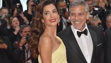 Amal et George Clooney à Cannes en mai 2016