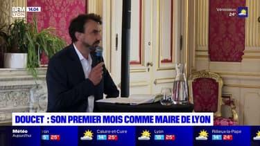 Lyon: que retenir du premier mois de Grégory Doucet en tant que maire?