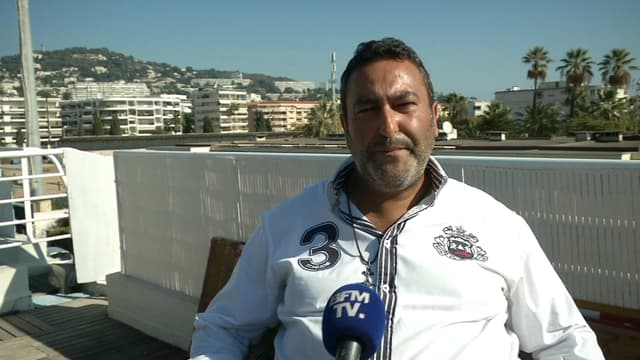 Mickaël Chemloul, l'ancien chauffeur d'Harvey Weinstein en France.