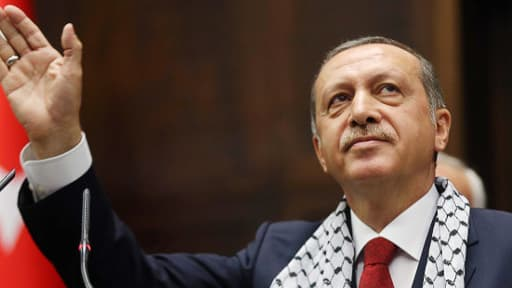 Recep Tayyip Erdogan, le 22 juilllet 2014.