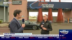 """Les 24h du Mans, un """"accélérateur du développement de la technologie automobile"""" selon Carlos Tavares, président du Directoire de PSA"""