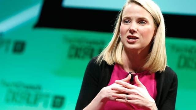 Marissa Mayer, la directrice générale de Yahoo!, a souligné la progression du mobile et de la vidéo.