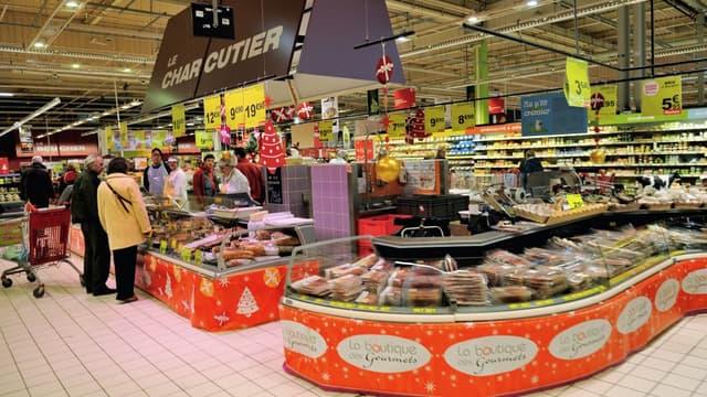 Ces produits sont commercialisés au rayon traditionnel des supermarchés et hypermarchés (et par les bouchers détaillants sur tout le territoire français)  - Photo d'illustration